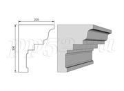 Карнизы из пенопласта (пенополистирола) фасадный декор