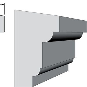 Подоконники из пенопласта (пенополистирола) фасадный декор