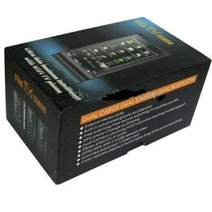 Сони-Эриксон С5000 Wi-Fi + TV,  новый,  2 сим,  Интернет,  камера 2 Мпкс