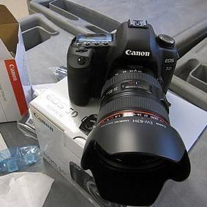 Brand New: Nikon D7000,  Nikon D90/Canon EOS-5D Mark II,  Canon EOS 7D