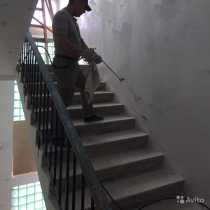 Механизированная покраска стен и фасадов,  огнезащита металоконструкций