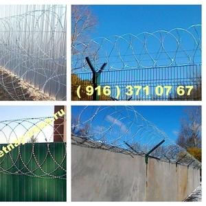 Продажа и монтаж колючей проволоки Егоза в Нижнем Новгороде