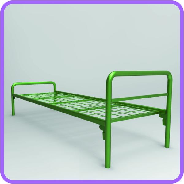 Бюджетные кровати металлические с доставкой 3