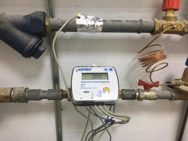 Поверка счётчиков воды и тепла,  на дому без снятия 5