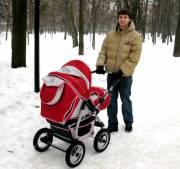 Продаётся детская коляска трансформер Anmar Leon.