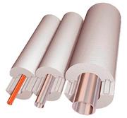Теплоизоляция для труб из пенопласта (пенополистирола) скорлупа